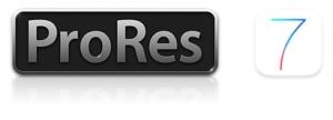 iOSでProResは再生出来るか?