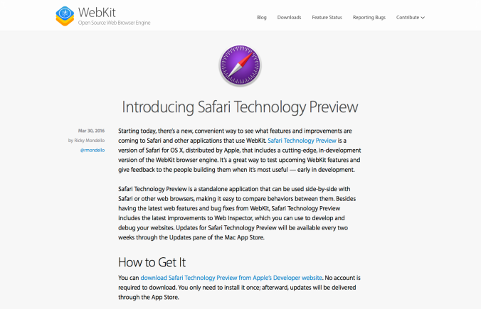 SafariTechnologyPreview